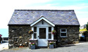 Detached stone byre with a magnificent seascape at Pistyll, near Nefyn