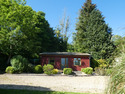 Delightful Cedarwood Log Cabin Within Beautiful Landscaped Grounds At Boduan, Near Nefyn